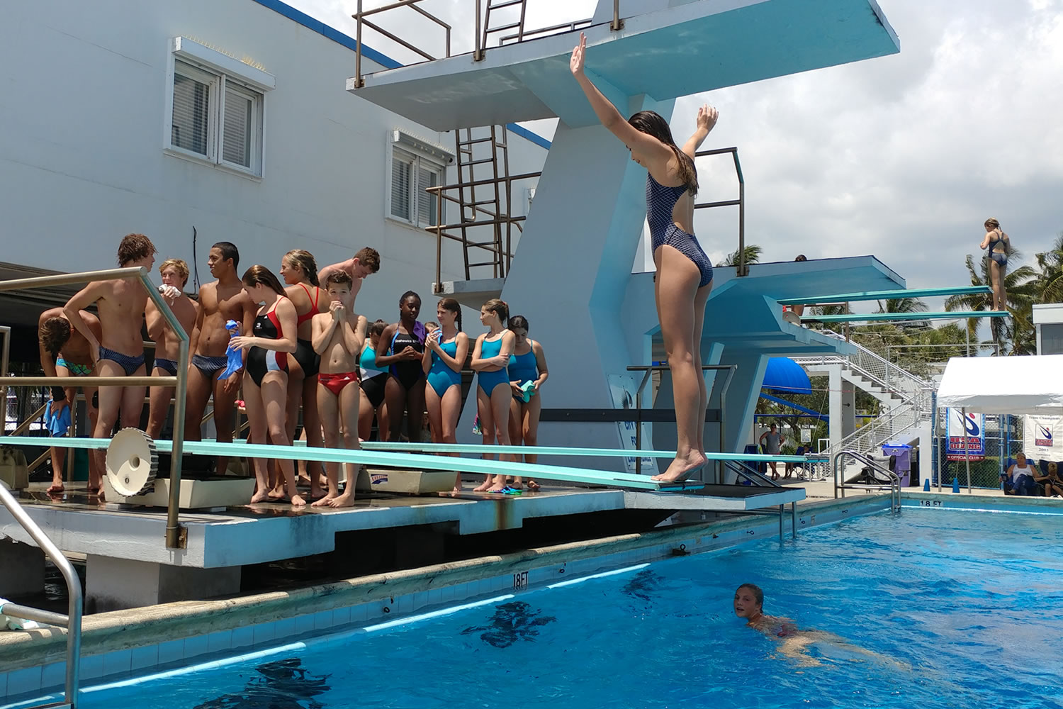 USA Diving Meet